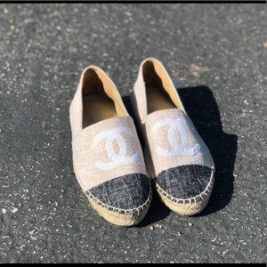 Chanel sequin espadrilles size 39